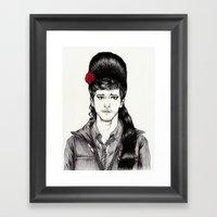 SAM PINKETT IS BACK TO B… Framed Art Print