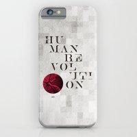 iPhone & iPod Case featuring Human Revolution by Sebastian Nordlund