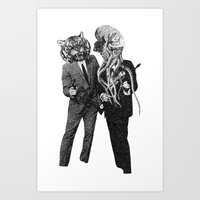 The Made Us Detectives (… Art Print