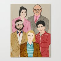 Royal Tenenbaums Canvas Print