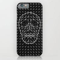 Triangle and Line Art Skull iPhone 6 Slim Case