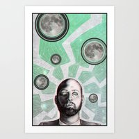 Wavelength Art Print