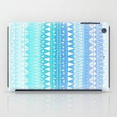 Triangle Gradient Aqua Mix iPad Case