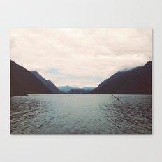 Alouette Lake Canvas Print
