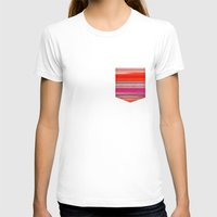 stripes T-shirts featuring stripes by spinL