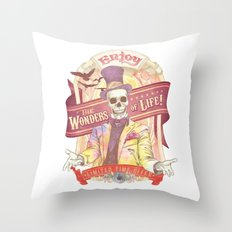 The Greatest Spectacle Ever! Throw Pillow