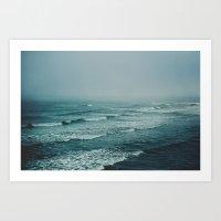 Across The Atlantic Art Print