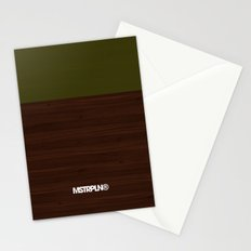 Modern Minimal Collection / Walnut Stationery Cards