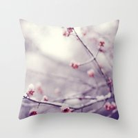 Poem Of The Air Throw Pillow
