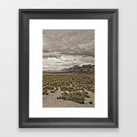 FOUND Framed Art Print