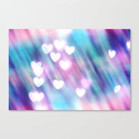 Your Love is Sweet Like Candy Canvas Print