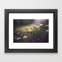so what if I like pretty things? Framed Art Print