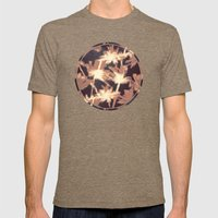 Miami Nights Mens Fitted Tee Tri-Coffee SMALL