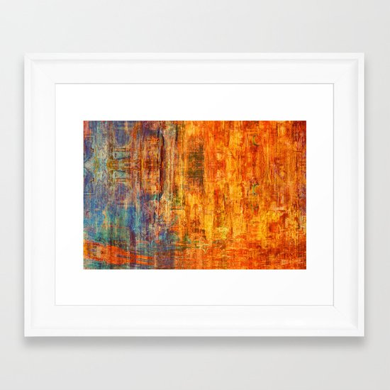 Saro Framed Art Print