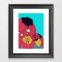 Thudd! Framed Art Print