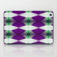 Purple Diamonds iPad Case