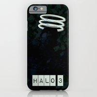 iPhone & iPod Case featuring Halo 3 by Salmanorguk