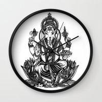 Ganesh Wall Clock