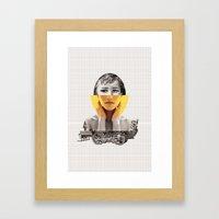 Goodbye My Lover Framed Art Print