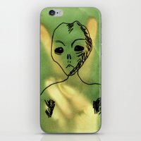 We Come In Peace. iPhone & iPod Skin