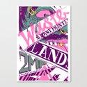 Wastelands Part 2. Canvas Print