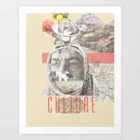 Culture Club Art Print
