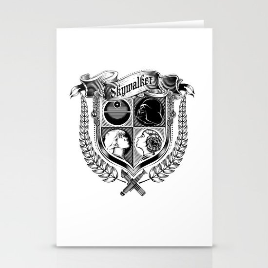 Family Coat of Arms Stationery Card