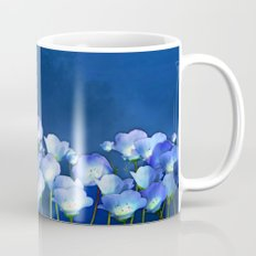 Cornflowers in the moonlight Mug