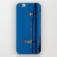 Mackinac Bridge At Blue … iPhone & iPod Skin