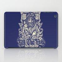 Kill The king iPad Case