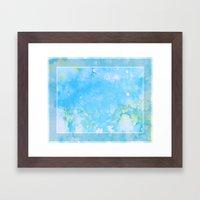 Cloud Song Framed Art Print
