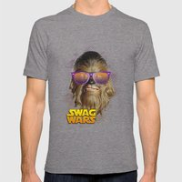 Chewbacca Swag Mens Fitted Tee Tri-Grey SMALL