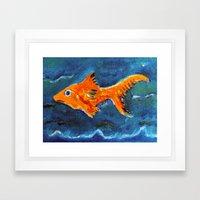 Goldfish 2 Framed Art Print