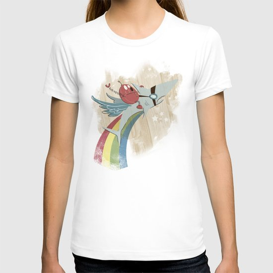 The Super Fire Awesome Rainbow Dream Adventure! T-shirt