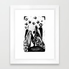 The you-Emilie Record Framed Art Print