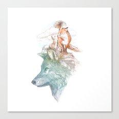 WRF Canvas Print