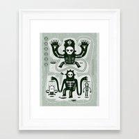 Chamanistik Framed Art Print