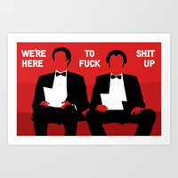 Step Brothers Art Print