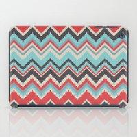 Aztec Chevron Pattern- G… iPad Case