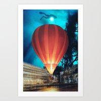 balloon Art Prints featuring Balloon by John Turck