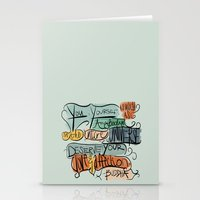 Love & Affection Stationery Cards
