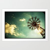 Catch The Wind Art Print