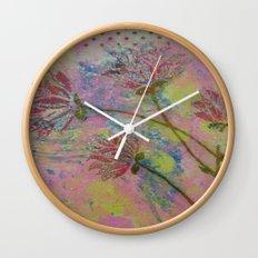 Spring Into Life Wall Clock