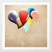 Happy Birthday Transpare… Art Print
