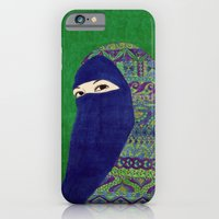 iPhone & iPod Case featuring Happy Eyes by Najmah Salam