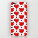 Valentine in White iPhone & iPod Skin