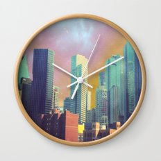 Dallas Ya'll Wall Clock