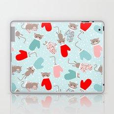 Kittens in mittens Laptop & iPad Skin