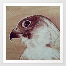 Thinking About Flight Art Print