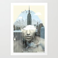 New York City Shift Art Print